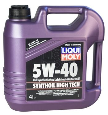 Масло моторное Synthoil High Tech 5W40 4л 1915