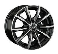 Диск LS WHEELS 786 6 16 4*100 50 60.1 BKF черный