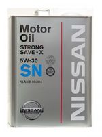 Масло моторное Nissan SN Strong Save X 5W30 4л