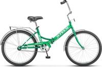 Велосипед Stels Pilot 710 24 р16 зелёный/зелёный