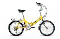 Велосипед Forward Arsenal 2.0 20 p14 складной жёлтый